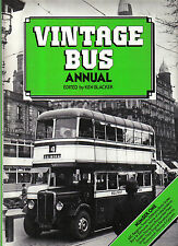 Vintage Bus Annual No. 1 AEC Regent Thornycroft Darings & Cygnets White Rose +