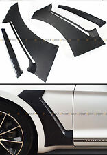 For 2015-17 Ford Mustang GT Style Front Fender Side Panel Door Scoops Vent Flare