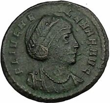 Helena ' Saint ' Constantine the Great Mother  Ancient Coin Peace Cult i52804