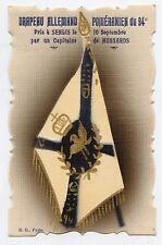 WW1 . DRAPEAU ALLEMAND POMéRANIEN du 94e .Pris à SENILIS . FLAG.