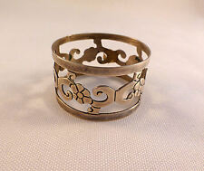 Mexican Sterling Cut Out Napkin Ring
