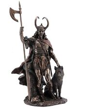 "13.75"" Norse God Loki Viking Statue Sculpture Myth Figure Figurine Sculpture"