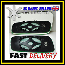 Left Passenger Side Wing Mirror Glass HEATED VOLVO S40 V40 95-04