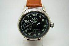 PANZERTRUPPEN GERMAN ARMY MILITARY WATCH WW2 TYPE VINTAGE SERVICED WORKING 60s