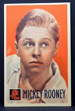 Mickey Rooney  - AK - Foto Autogramm-Karte - Photo Postcard (Lot # F5883