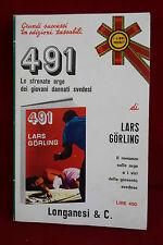 L14   I LIBRI POCKET - 491 LE SFRENATE ORGE DEI GIOVANI SVEDESI ANNO 1972