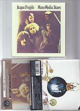 ACQUA FRAGILE 2 Japan mini lp cd + Mass Media Stars Promo Box set italy prog