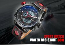 WEIDE WH3401 Men Military Digital Analog Water/Shock-Proof Quartz Wrist Watch UK