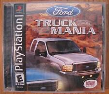 FORD TRUCK MANIA Playstation 1 PS1 VIDEO GAME TESTED COMPLETE