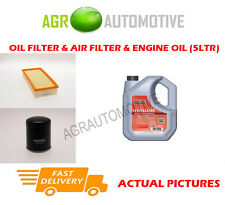 DIESEL OIL AIR FILTER KIT + FS 5W40 OIL FOR PEUGEOT 406 2.0 109 BHP 1999-04