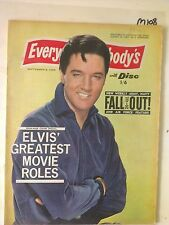 EVERYBODYS with DISC,1965 SEP 6,ELVIS PRESLEY Cover,THE BACHELORS,