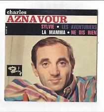 Charles Aznavour : Sylvie - La mamma - Ne dis rien - Les Aventuriers