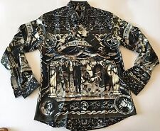 Brand New D&G Dolce & Gabbana Shirt Men's 100% ITALY SIZE M France Casual PUPI