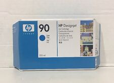 Genuine New HP 90 Cyan Sealed Ink Cartridge C5060A OEM - 2014