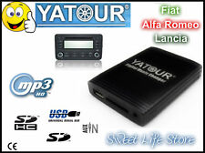 YATOUR USB SD AUX CDC Interfaccia Lettore MP3 Radio LANCIA Y YPSILON MUSA DELTA