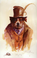 "JACK RUSSELL TERRIER DOG FINE ART LIMITED EDITION PRINT ""The Ratting Chap"""