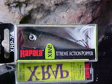 Rapala X-Rap Pop XRP07 PGS in Color PEARL GREY SHINER for Bass/Pike/Pickerel NIP