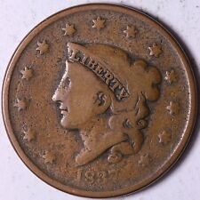 1837 Coronet Head Large Cent #Tp#