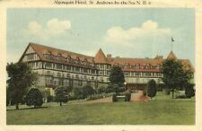 canada, St, ANDREWS-BY-THE-SEA, N.B., Algonquin Hotel (1930)