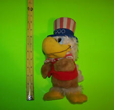 "Olympic Mascot ""Sam"" The Eagle Stuffed Toy Los Angeles Summer Olympics 1984"