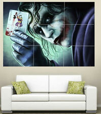 The Joker  Giant  Section Wall Art Poster 260gsm