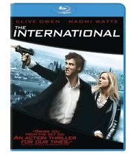 Blu Ray THE INTERNATIONAL - (2009) *** Naomi Watts, Luca Barbareschi *** ..NUOVO