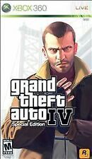 Xbox 360 Rockstar GTA4 Grand Theft Auto IV Special Edition New Factory Sealed