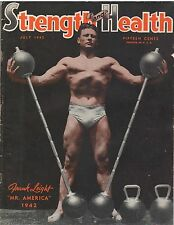 Strength & Health Bodybuilding Weightlifting Magazine Frank Leight 7-42