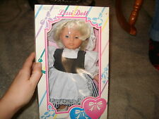 NEW BOX Lissi Doll dress by Annerliese S. Batz German baby doll Two Hearts Coll.