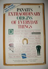 Extraordinary Origins of Everyday Things by Charles Panati and Cha Panati...