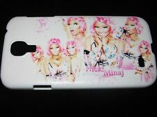 Nicki Minaj Hard Cover Case for Samsung S4 IV White Multiple Nicki Pink Case