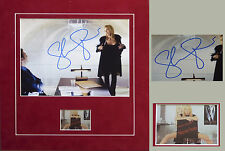 Sharon Stone - Basic Instinct -Autograph - Signed Photo mounted display with COA