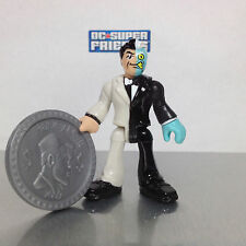Imaginext DC Super Friends BLACK & WHITE TWO FACE from Series 1 Blind Bag SEALED