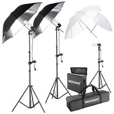 Neewer 600W Photography Portrait Studio Umbrella Triple Continuous Lighting Kit
