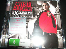 Chris Brown Exclusive The Forever Edition Australian CD DVD - New