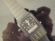 Gents VINTAGE 1988 Casio World Time CALCOLATRICE watch.aq80c.new stock.faulty vecchi.