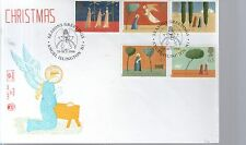 First Day Cover - 1996 CHRISTMAS - Unaddressed - Angel Islington