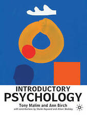 Introductory Psychology, Birch, Ann, Malim, Tony, New Book