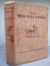 The Red Roan Pony by J W Lippincott - Illust by Ernest Aris HB 1935