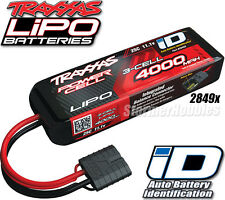 Traxxas iD Power Cell LiPo 11.1V 3-cell 4000mAh 25C Battery TRA2849X for BANDIT