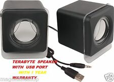 USB Powered Mini Portable Speakers for Laptop & PC 100% Original Terabyte