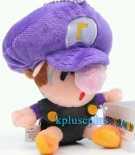 SUPER MARIO BROS. BABY WALUIGI PELUCHE Plush Boo Daisy Bowser Ghost Toad