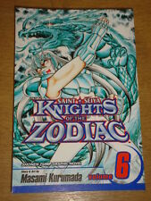 KNIGHTS OF THE ZODIAC VOL 6 SHONEN JUMP MANGA VIZ KURUMADA GRAPHIC NOVEL