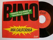 "BINO : Mia California / Solera (""Guardian Angel"") SP 1984 French BERNETT SB 1819"