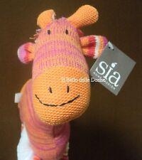**-50%** SIA Home Fashion Peluche GIRAFFA in cotone rosa arancio ok giocattolo