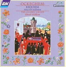 Ockeghem: Requiem; Missa Fors Seulement by Johannes Ockeghem, Pierre de La Rue,