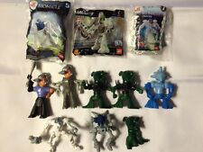 McDonald's Lego Bionicle Happy Meal Toys Lot Of 10 1/2 New (3) And Used (7 1/2)