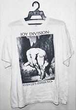 VINTAGE 80's JOY DIVISION DANTE'S INFERNO PUNK ROCK GOTH TOUR CONCERT T-SHIRT