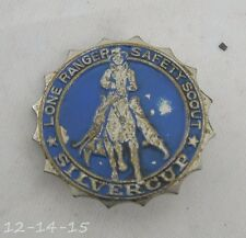 Lone Ranger Safety Scout Silvercup Pin Premium