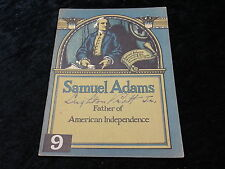 C1930s Booklet published by John Hancock Mutal-Boston - Samuel Adams